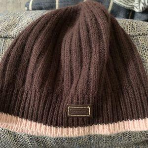 Coach Knit Beanie Hat